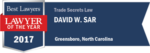 David W. Sar has earned a Lawyer of the Year award for 2017!