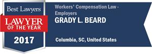 Grady L. Beard has earned a Lawyer of the Year award for 2017!