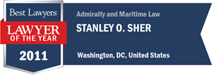 Stanley O. Sher has earned a Lawyer of the Year award for 2011!