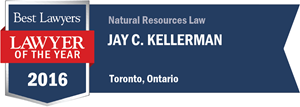 Jay C. Kellerman has earned a Lawyer of the Year award for 2016!