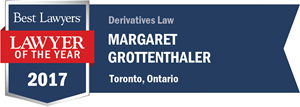 Margaret Grottenthaler has earned a Lawyer of the Year award for 2017!