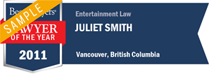 Juliet Smith has earned a Lawyer of the Year award for 2011!