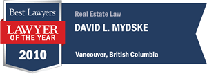 David L. Mydske has earned a Lawyer of the Year award for 2010!