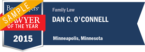 Dan C. O'Connell has earned a Lawyer of the Year award for 2015!