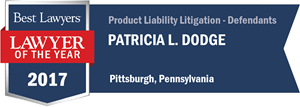 Patricia L. Dodge has earned a Lawyer of the Year award for 2017!