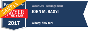John M. Bagyi has earned a Lawyer of the Year award for 2017!
