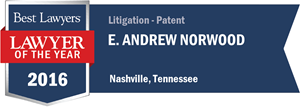 E. Andrew Norwood has earned a Lawyer of the Year award for 2016!