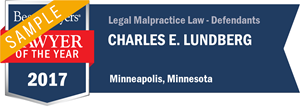 Charles E. Lundberg has earned a Lawyer of the Year award for 2017!