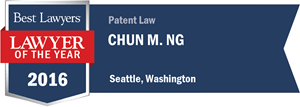 Chun M. Ng has earned a Lawyer of the Year award for 2016!