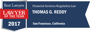 Thomas G. Reddy has earned a Lawyer of the Year award for 2017!