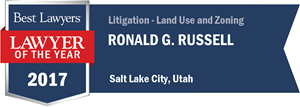 Ronald G. Russell has earned a Lawyer of the Year award for 2017!
