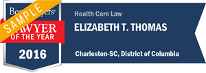 Elizabeth T. Thomas has earned a Lawyer of the Year award for 2016!