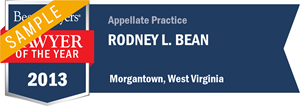 Rodney L. Bean has earned a Lawyer of the Year award for 2013!