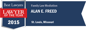 Alan E. Freed has earned a Lawyer of the Year award for 2015!