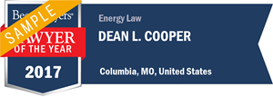 Dean L. Cooper has earned a Lawyer of the Year award for 2017!