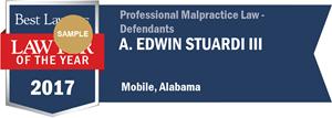 A. Edwin Stuardi III has earned a Lawyer of the Year award for 2017!