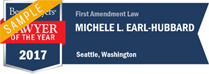 Michele L. Earl-Hubbard has earned a Lawyer of the Year award for 2017!