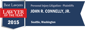 John R. Connelly, Jr. has earned a Lawyer of the Year award for 2015!