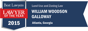 William Woodson Galloway has earned a Lawyer of the Year award for 2015!