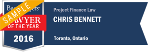 Chris Bennett has earned a Lawyer of the Year award for 2016!