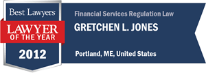 Gretchen L. Jones has earned a Lawyer of the Year award for 2012!