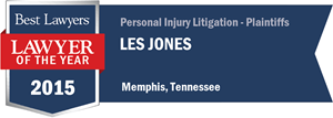 Les Jones has earned a Lawyer of the Year award for 2015!