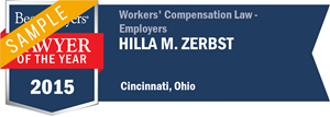 Hilla M. Zerbst has earned a Lawyer of the Year award for 2015!