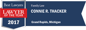 Connie R. Thacker has earned a Lawyer of the Year award for 2017!