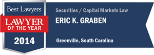 Eric K. Graben has earned a Lawyer of the Year award for 2014!