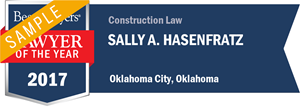 Sally A. Hasenfratz has earned a Lawyer of the Year award for 2017!