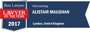 Alistair Maughan has earned a Lawyer of the Year award for 2017!