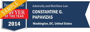 Constantine G. Papavizas has earned a Lawyer of the Year award for 2014!