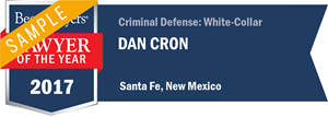 Dan Cron has earned a Lawyer of the Year award for 2017!