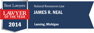 James R. Neal has earned a Lawyer of the Year award for 2014!