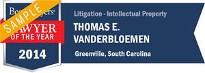 Thomas E. Vanderbloemen has earned a Lawyer of the Year award for 2014!