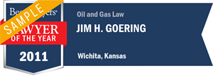 Jim H. Goering has earned a Lawyer of the Year award for 2011!
