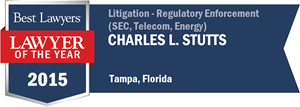 Charles L. Stutts has earned a Lawyer of the Year award for 2015!