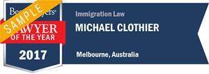 Michael Clothier has earned a Lawyer of the Year award for 2017!