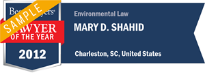 Mary D. Shahid has earned a Lawyer of the Year award for 2012!