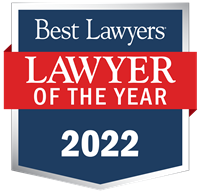 """Japan """"Lawyer of the Year"""" badge"""